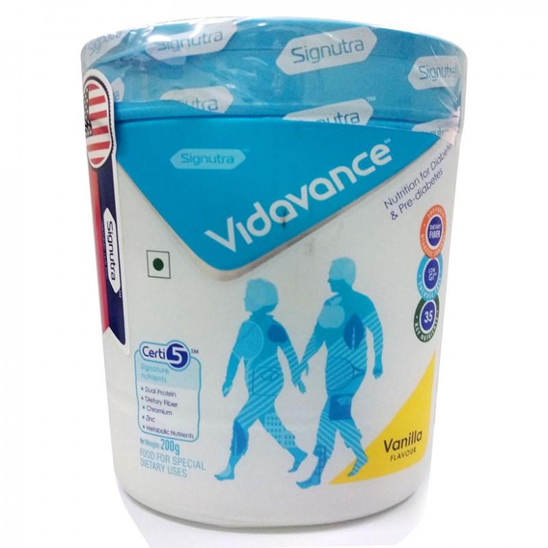 Sữa VIDAVANCE – Dinh dưỡng cho người đái tháo đường & tiền đái tháo đường