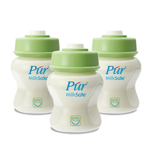Bình trữ sữa Pur (3 bình)