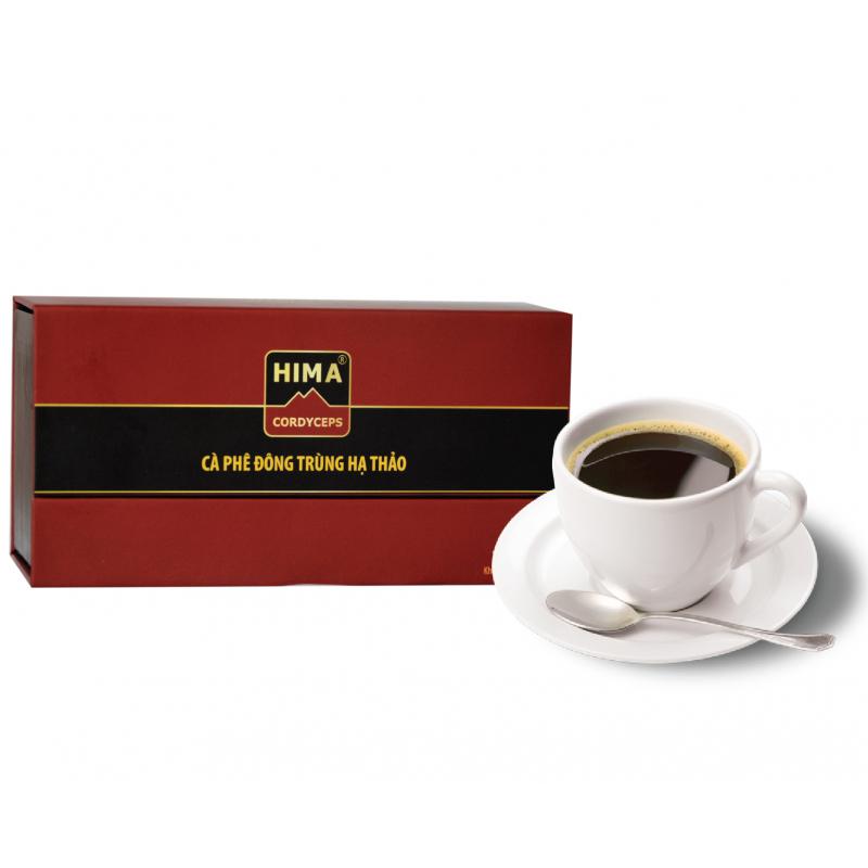 Cà phê đông trùng hạ thảo 4 trong 1 HIMA
