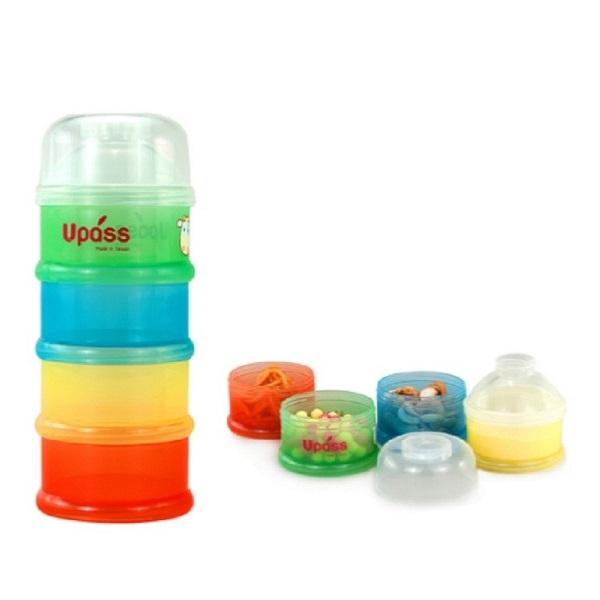 Hộp đựng sữa bột 4 ngăn không BPA NEW Uapss