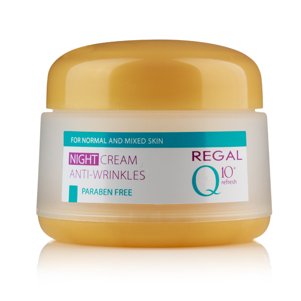Kem chống lão hóa cho da hỗn hợp Night Cream Anti Wrinkle - Regal Q10