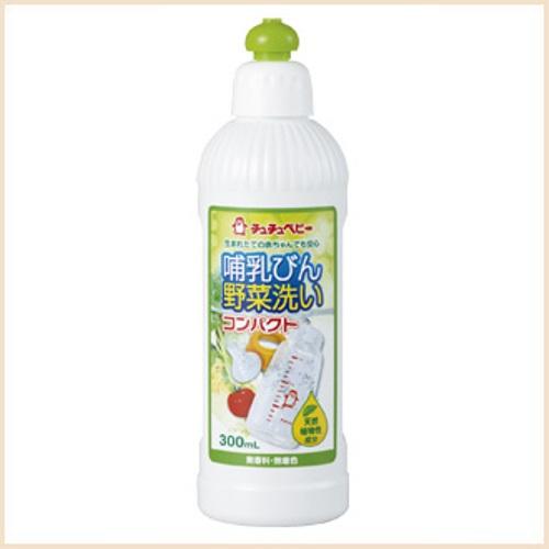 Nước rửa bình sữa và rau quả loại đậm đặc 300ml Chuchubaby