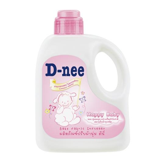 Nước Xả Mềm Vải Em Be D-nee chai 1L (màu hồng)