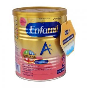 Sữa Enfamilk A+2 360 brain plus - 400g