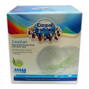 Hộp 40 miếng lót thấm sữa Canpol Babies EasyStart