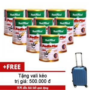 Bộ 10 Sữa Pediaplus 900g (tặng vali)