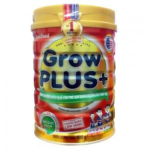 Sữa Nutifood GrowPlus+ dành cho trẻ suy dinh dưỡng thấp còi trên 1 tuổi