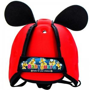 Mũ bảo vệ đầu cho bé BabyGuard (Đỏ) 02