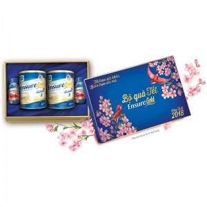 Bộ quà tết Sữa Ensure Gold 850g