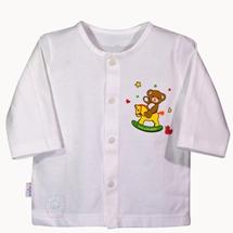 Áo Bin dài trắng (Size 1,2)