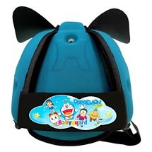 Mũ bảo vệ đầu cho bé BabyGuard (Xanh Ngọc) logo Doremon 03