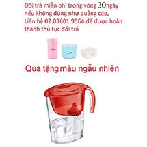Ca lọc nước Barrier ECO màu đỏ tặng Bộ 3 hộp Kova Hàn Quốc