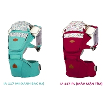 Địu em bé I-angel Fleur Hipseat carrier IA-117