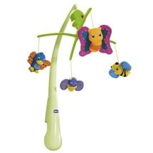 Đồ chơi treo cũi ong bướm phát nhạc Chicco
