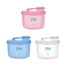 Hộp nhựa 3 ngăn chứa sữa bột