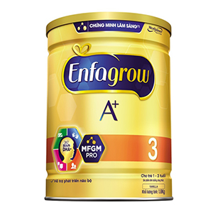 Sữa bột Enfagrow A+ 3 DHA+ và MFGM 1.8kg