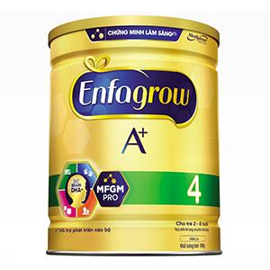 Sữa bột Enfagrow A+ 4 DHA+ và MFGM 900g