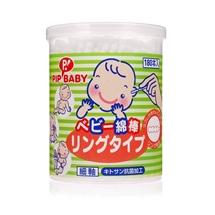 Tăm bông em bé dạng xoắn 180 cây – PIP BABY Chuchubaby
