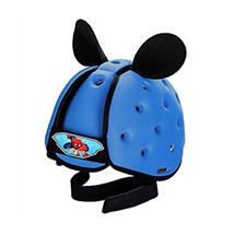 Mũ bảo vệ đầu cho bé BabyGuard (Xanh Biển) logo Người Nhện