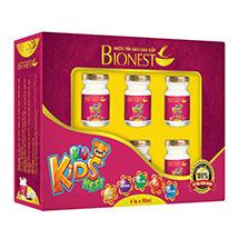 Hộp yến sào cao cấp BioNest Kidnest 6 hủ