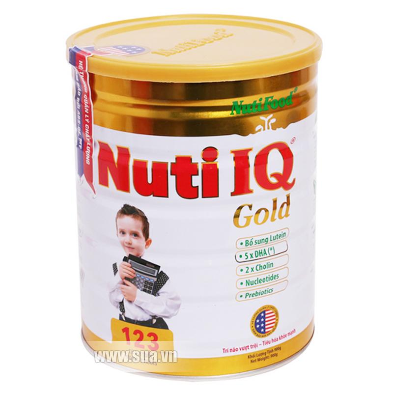 Sữa bột Nuti IQ 123 Gold 900g (cho trẻ từ 1 - 3 tuổi)