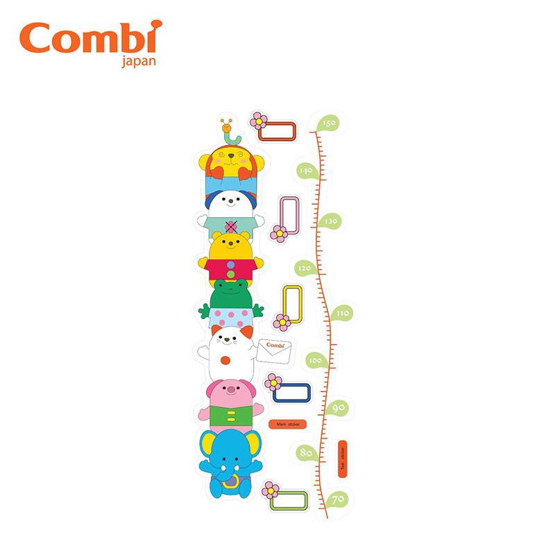 Thước đo chiều cao dán tường Combi