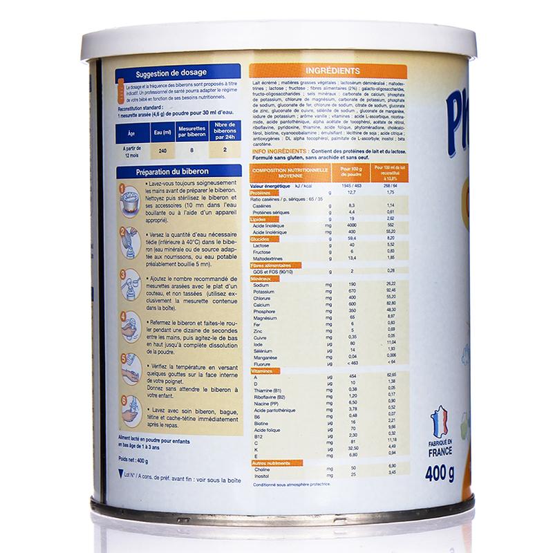 Chi tiết Sữa bột Physiolac số 3