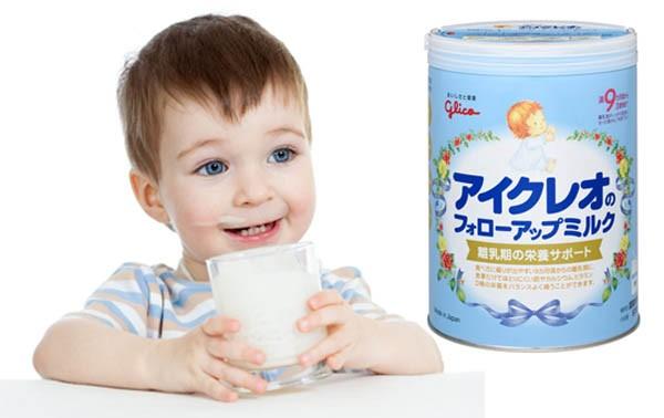 Sữa Glico Icreo số 9 820g (9 - 36 tháng)