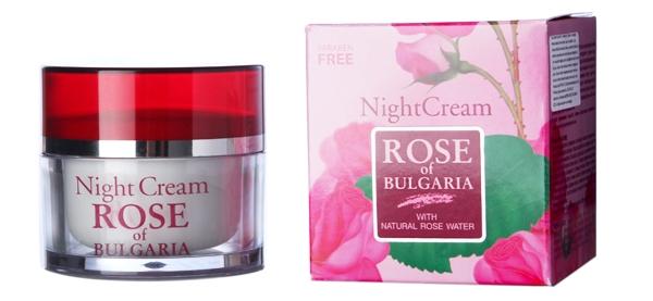Kem dưỡng chống lão hóa ban đêm Night Cream - Rose Of Bulgaria