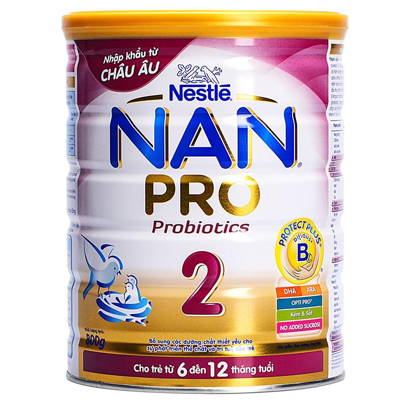 Sữa Nan Pro số 2