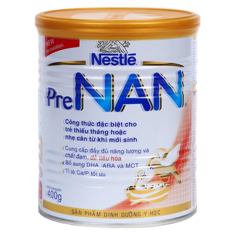 Sữa Pre Nan dành cho trẻ thiếu tháng